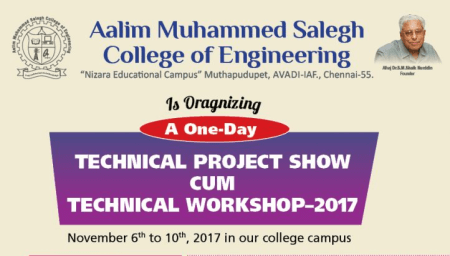 Technical project show cum technical workshop
