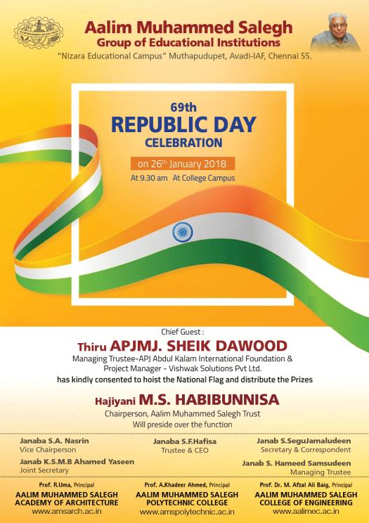 60th republic day