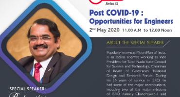 Webinar On Post Covid-19: Oppurtunities For Engineers